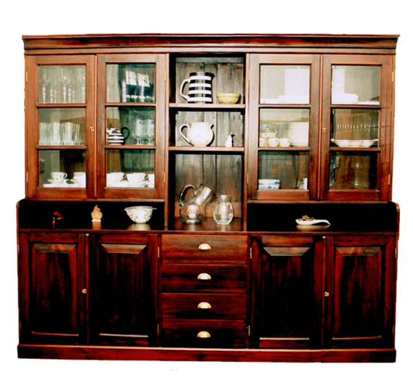 Dining room dutch display cabinet for Dining room display cabinets